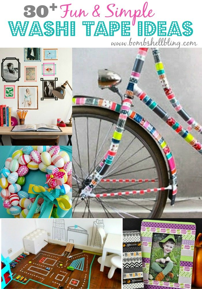 Washi Tape ideas GALORE!  Love it!