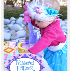Feathered Princess Headband