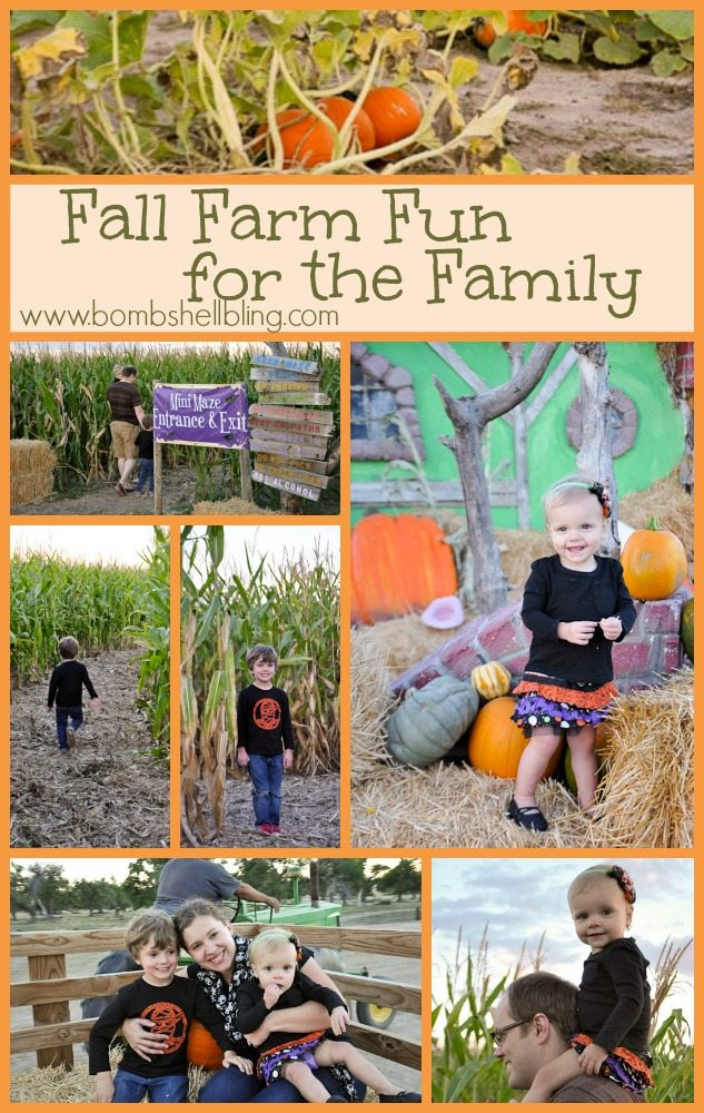 Fall Farm Fun for the Family from Bombshell Bling