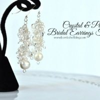 Crystal & Pearl Bridal Earrings Tutorial & Blog Hop
