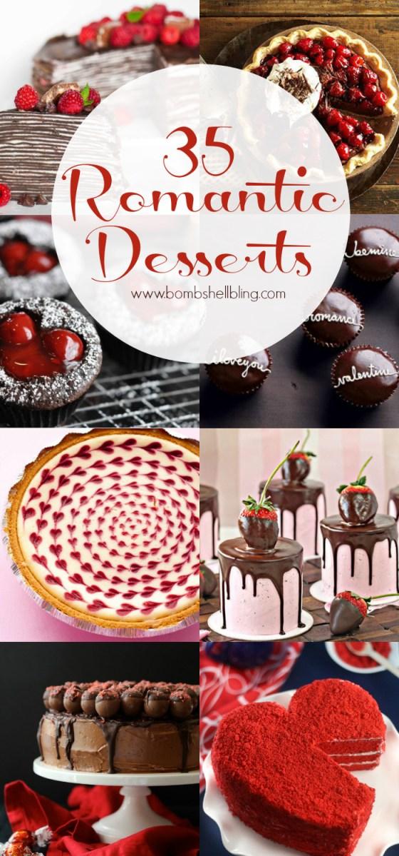 35 Romantic Desserts