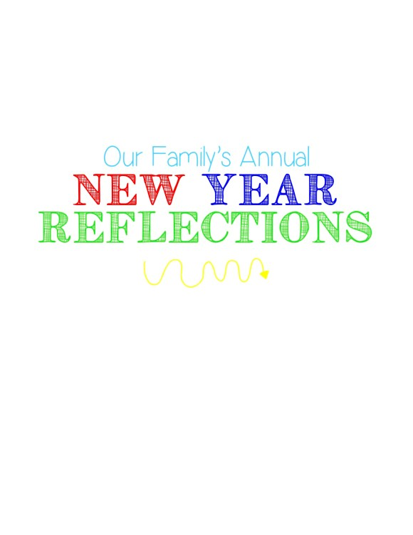 New Year Reflections Cover