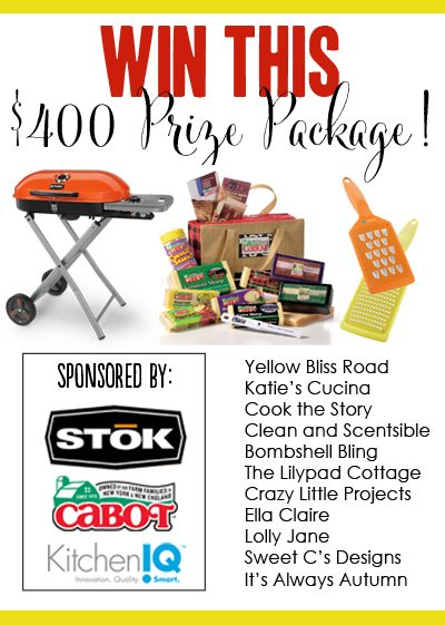 I love this football tailgating themed giveaway worth $400!