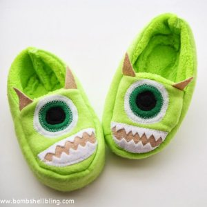 Monsters Inc Slippers-1
