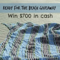 Ready for the Beach Giveaway: Win $700 in Cash