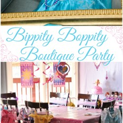 Disney Princess Bippity Boppity Boutique Party