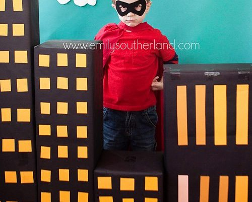 A SuperHero Birthday Party
