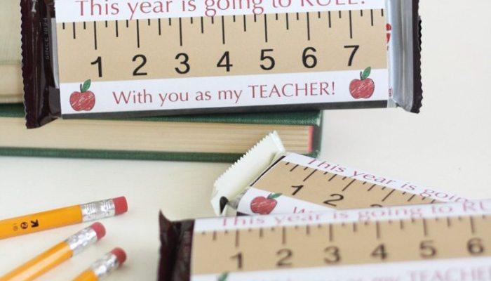Simple Back to School Teacher Gift Printable