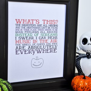 The Nightmare Before Christmas Printable-3