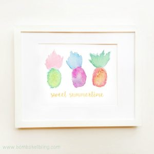 Pineapple Summer Printable