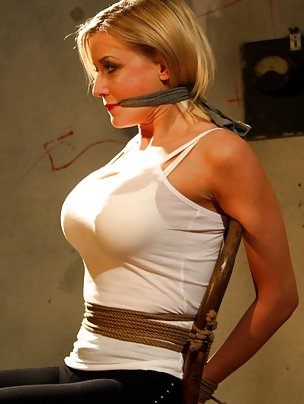 cleave gagged blondes