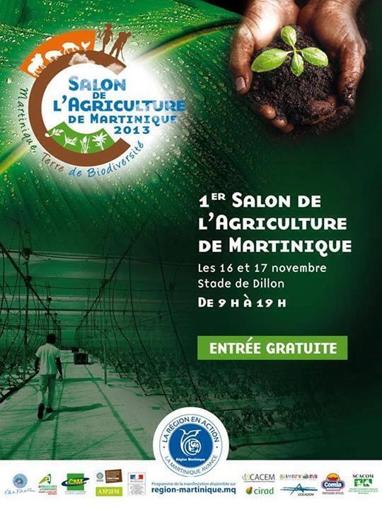 1er salon de l 39 agriculture de martinique bondamanjak - Entree gratuite salon de l agriculture ...