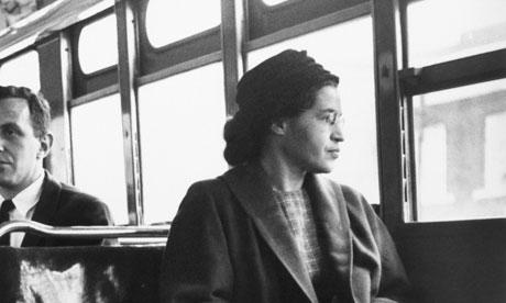 Rosa Parks, icône du mouvement des Droits Civiques, d'ascendance Cherokee et Cree.