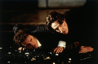 mark darcy and daniel cleaver after street fight in bridget jones