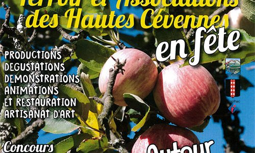 Journée «Terroir et Associations des Hautes Cévennes» dimanche 18 septembre 2016 à Génolhac