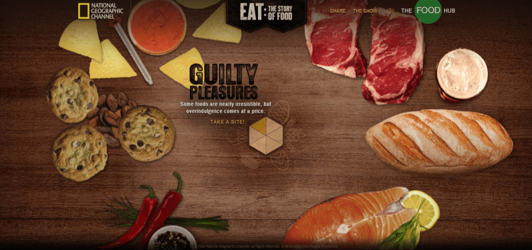 National Geographic. Channel's Eat, The Story of Food, food story, food channel