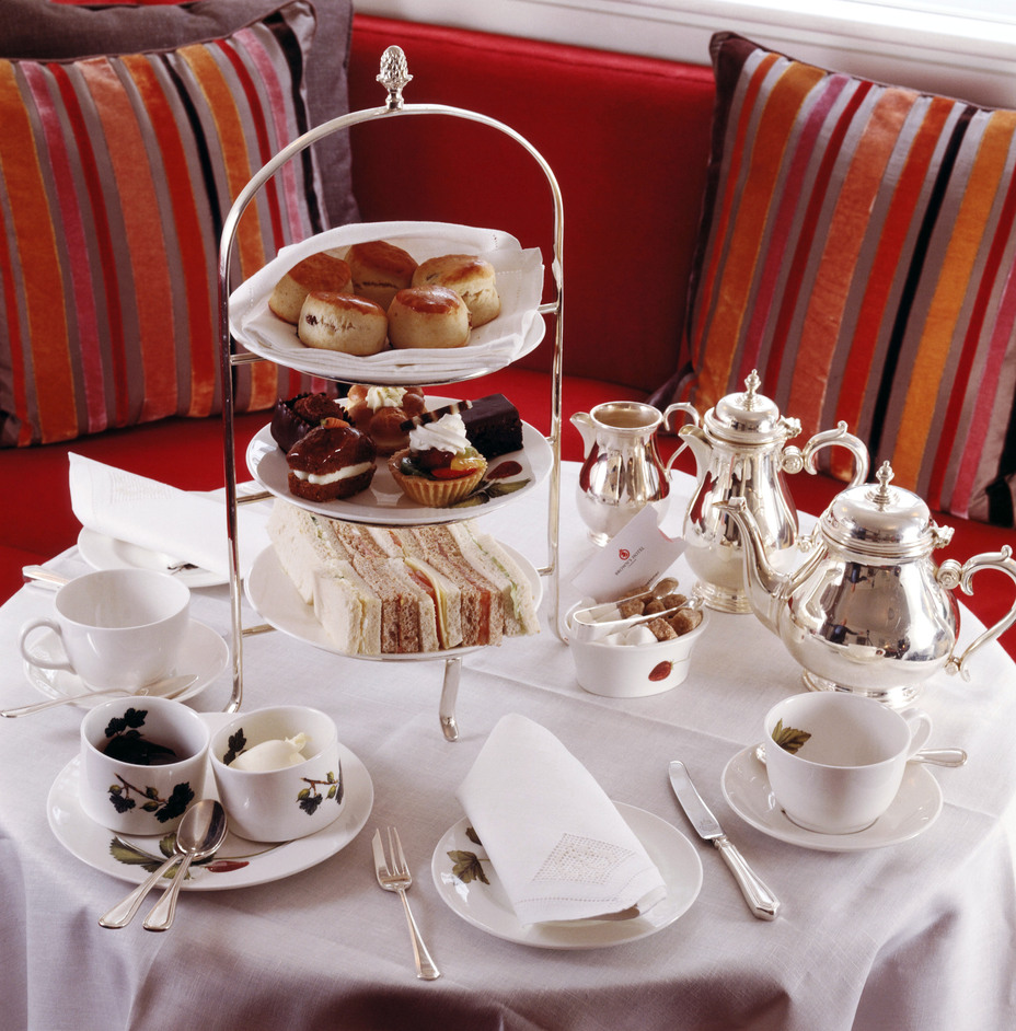 Afternoon Tea at the Legendary Brown