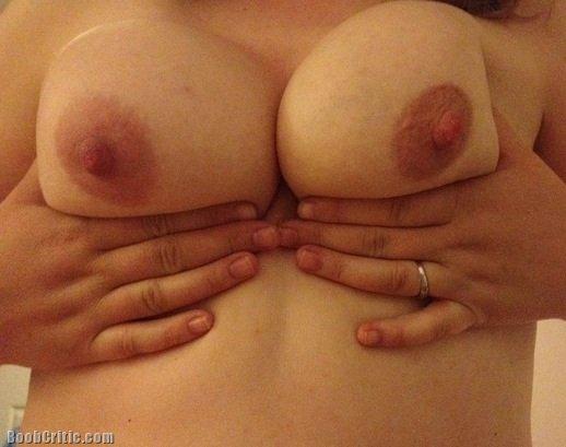 milf holding boobs tumblr