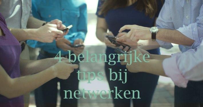 belangrijke tips netwerken