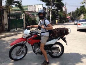 Rent a motorcycle in Mactan, cebu