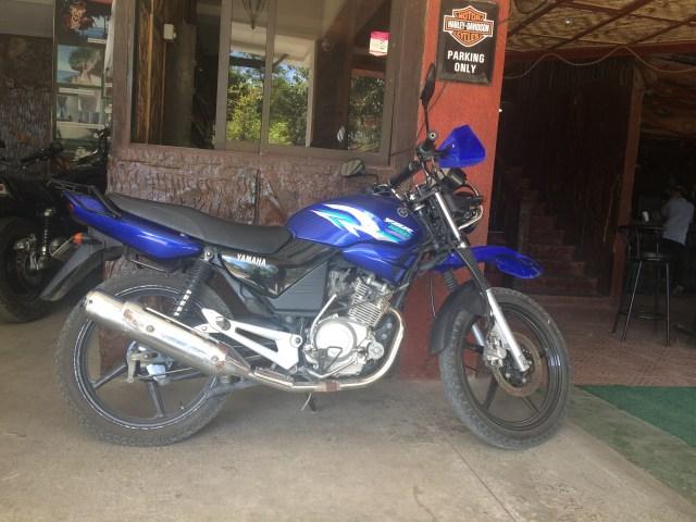 Rent motorbike mactan