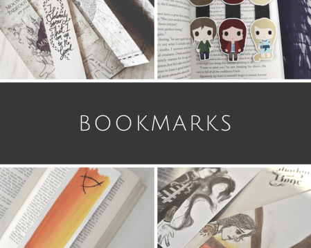 homemade bookmarks fandoms