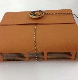long stitch bookbinding sample