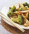 Kung Pao Chicken and Broccoli