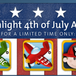 AlphaTots Educational iPad Apps 4th of July Weekend Sale