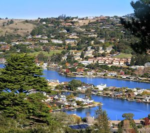 Tiburon and Belvedere, in Marin County, California