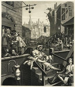 William Hogarth's Gin Lane