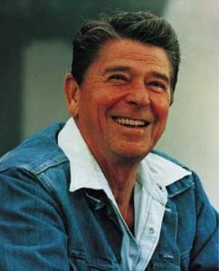 Ronald Reagan - the Happy Warrior