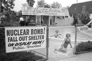 Fall out shelter from the 1950s