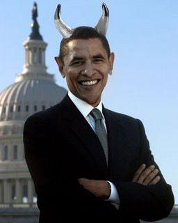 Obama the devil