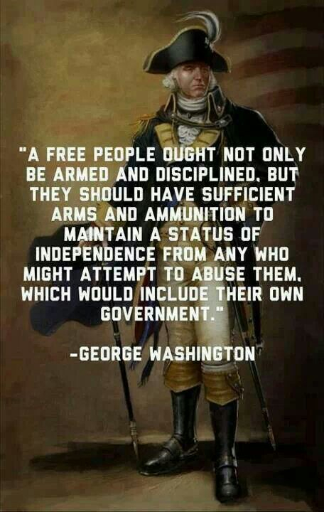 George Washington and the 2nd Amendment