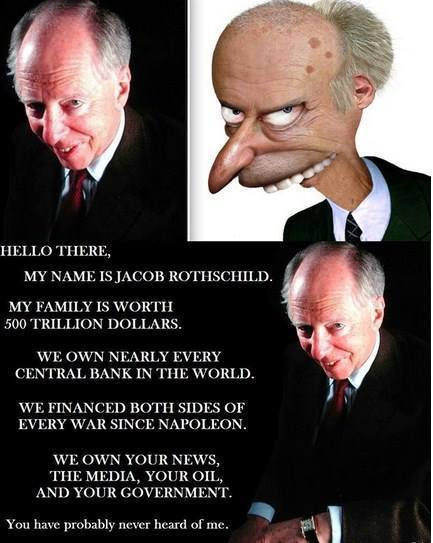 Rothschild and the new antisemitism
