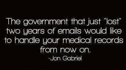 Government lost documents
