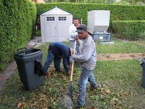 Hispanic gardeners