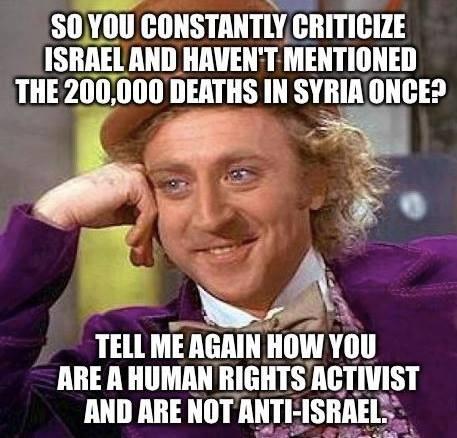 All Israel No Syria