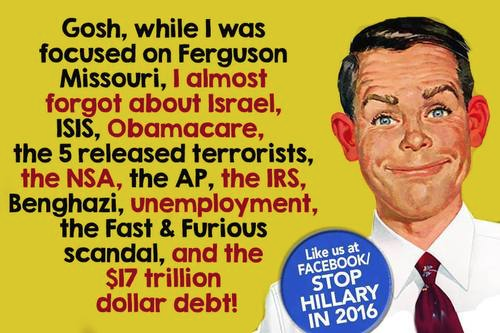 Ferguson amnesia