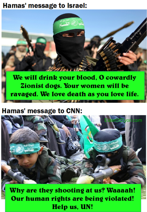 Hamas speaks to Israel and CNN