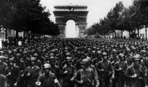 We'll never again see the type of victory parade that happened in Paris in 1944