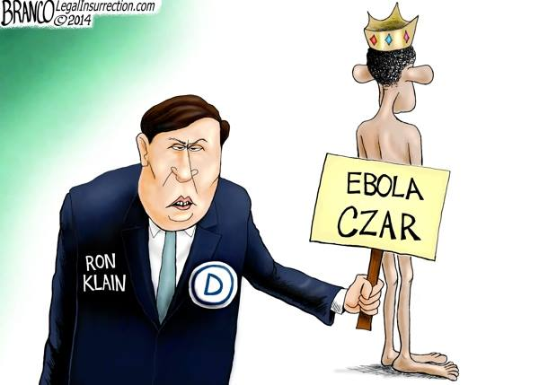 Ron Klain covers Obama's butt