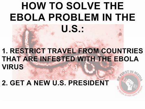 Solving Ebola in two steps