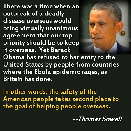 Sowell on Obama's care for Africans not Americans
