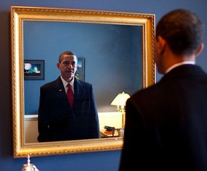 Obama and the mirror