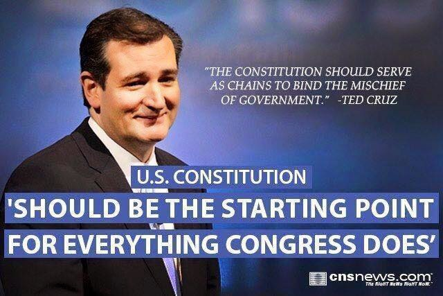 Constitution and Ted Cruz