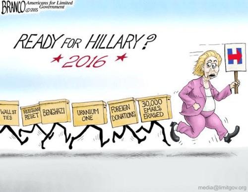 Hillary scandals