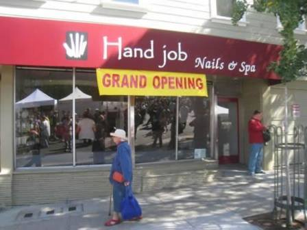 Lost in translation hand job