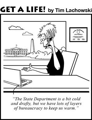 State Department bureaucracy
